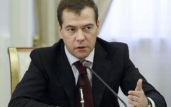 В Украине тектонический разлом общества – премьер РФ Медведев