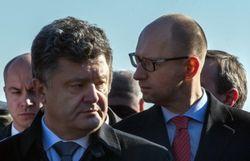 Порошенко дал премьеру Яценюку карт-бланш до осени