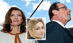 Супруга может бросить Олланда – президент Франции признался в измене