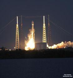 Первые запуски космических ракет в США проведут частные компании