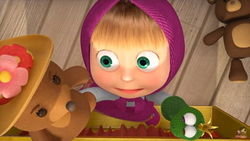 В Youtube появилась 54-ая серия мультфильма «Маша и Медведь: В гостях у сказки»