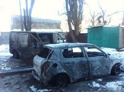 Поджигатель автомобилей в Киеве говорит, что его наняли в Доме профсоюзов