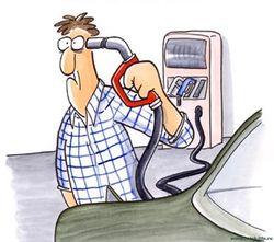 Начались акции протеста против роста цен на бензин
