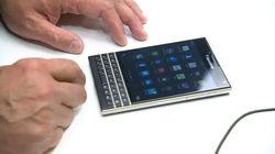 В Сети появились «живые» фото BlackBerry Passport