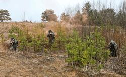На Донбассе находятся свыше 8 тыс. российских военных – штаб АТО