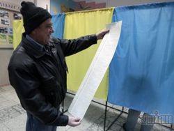 Оппозиционеры заявляют о нарушениях на довыборах в Черкассах