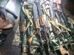 Захват воинской части в Донецке: военные успели вывезти оружие