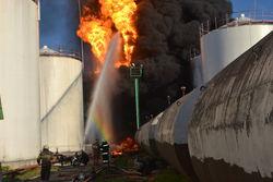 Нужно ли говорить об экологической катастрофе после пожара на нефтебазе?