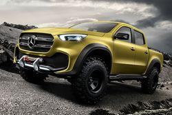 Mercedes презентовал первый в своей истории пикап