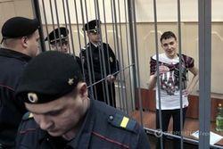 Савченко может начать сухую голодовку