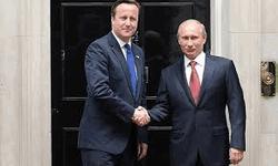Кэмерон с Путиным у резиденции премьера в Лондоне