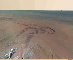 Кьюриосити: Человек сможет выдержать радиацию на Марсе