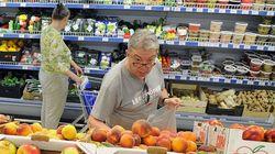 Попытки властей РФ сдержать цены на продовольствие неэффективны