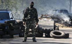 Глава сепаратистов Славянска заявил о танках и готовности к переговорам