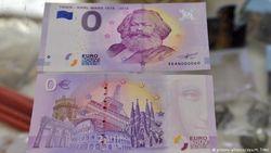 Банкнота номиналом 0 евро из Трита