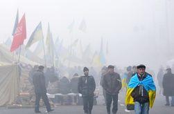 В Киеве Евромайдан перешел в пассивный режим