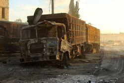 Гумконвой в Алеппо уничтожили российскими бомбами – Bellingcat