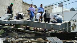 Разрушенный землетрясением Мехико