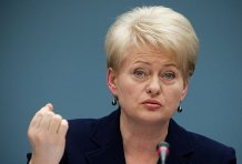 Янукович потерял доверие Евросоюза – Грибаускайте