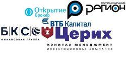 70 популярных инвесткомпаний России июля 2014г. в Интернете