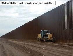Трамп показал великую американскую стену – мексиканцы не перелезут