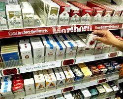 Минздрав, доказывает, что продавать сигареты в России незаконно