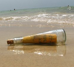 Новозеландец обнаружил бутылку с посланием, дрейфовавшую в океане 76 лет