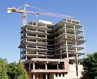 Объемы строительства в Украине за полгода упали