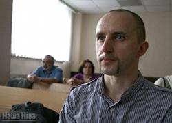 Распространитель белорусской книги Алесь Евдахо получил год «домашней химии»