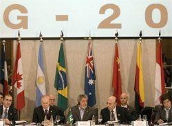 Министры финансов «большой двадцатки» встретятся в Мехико