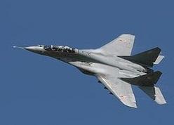 Возле Сирии разбился российский МиГ-29