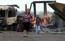 На подконтрольных террористам территориях люди выживают, как могут