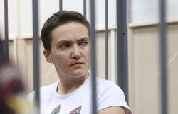 За неделю голодающая Надежда Савченко потеряла 8 килограммов веса – СПЧ
