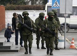 Русские военные с боем захватили воинскую часть в Бельбеке