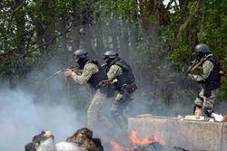 АТО в Славянске: бой, раненные и убитые