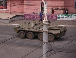 Аваков сообщает, что нападение боевиков на горотдел МВД в Мариуполе отбито