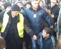 Самооборона Майдана поймала двух грабителей в КГГА
