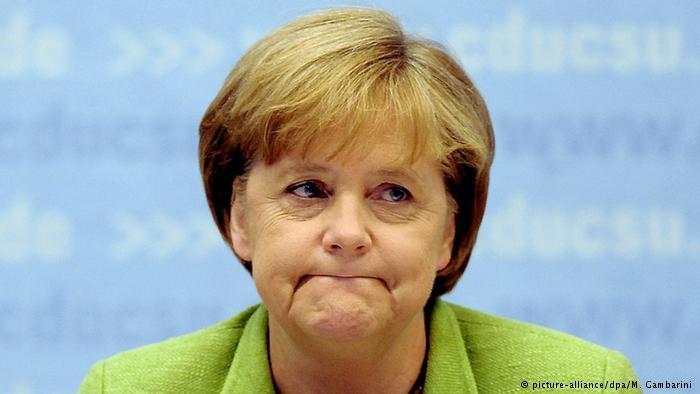 Популярность Меркель упала досамого низкого уровня за 5 лет