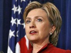 Хилари Клинтон похвалила украинский шоколад и поддержала интеграцию в ЕС