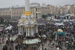 На Евромайдане на Народное вече собралось 300 тысяч человек - СМИ