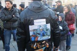 В Тбилиси прошла акция «Нет Газпрому!»