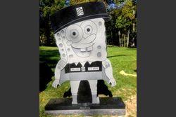 Надгробную плиту в виде Губки Боба убрали с могилы американского ветерана