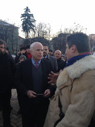 Маккейн в Киеве