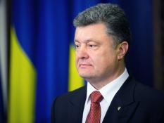 Петр Порошенко поздравил украинцев с Днем Европы