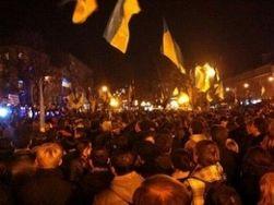 Львов призывают бастовать ради евроинтеграции Украины