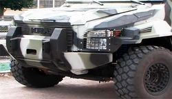Нацгвардия получила на вооружение новые бронемашины Cougar КРАЗ