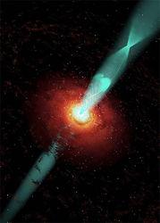 """""""Хвост"""" черной дыры - что мы никогда не знали о них"""