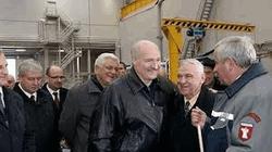 Александр Лукашенко на БелАЗе