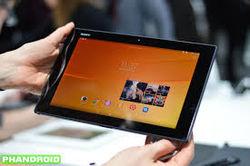Тонкий и прочный планшет Sony Xperia Z2 Tablet