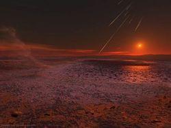 Когда-то фосфора, необходимого для появления жизни, на Марсе было вдоволь